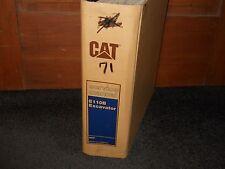 Caterpillar E110B Excavator Service manual 8MF