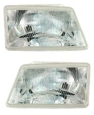 2 FEUX PHARE OPTIQUE PEUGEOT 205 PH 2 II GRIFFE 02/1983-09/1998 NEUF
