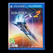 New PS Vita PSV Sealed Soldner-X 2 SÖLDNER-X 2: FINAL PROTOTYPE Region Free