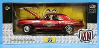 M2 Machines 1:24 Release MOON02 Mooneyes 1969 Chevrolet Camaro Z/28 RS (Red)