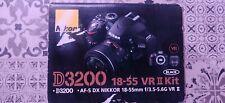 Nikon D3200 24,2 Mpix Appareil Photo Reflex Numérique Kit avec AF-S DX NIKKOR 18
