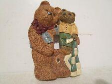 Figi Graphics Ceramic Handcrafted 3D Teddy Bear NurseryLight Switch Cover Plate