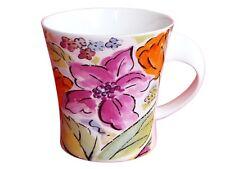 Feine Bone Porzellan Tasse Kaffetasse Jumbotasse Teetasse 5524-2-1071 Blumen Neu