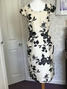 Ex Jacques Vert Floral Printed Skirt Size 16-20