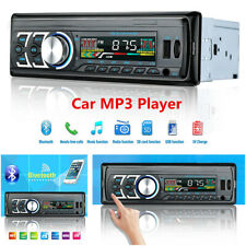 Bluetooth Handsfree Car Radio Stereo In-dash 1Din FM Aux Input SD USB MP3 Player