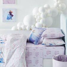 Adairs Kids FROZEN 2 Lilac COT Sheet Set - New, Anna, Elsa, Olaf, Snow