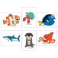 Finding Dory Tattoos x 12  Party Favours - Birthday Party - Nemo Party Dory Loot