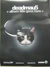 deadmau5 2012 ALBUM TITLE GOES HERE promotional poster New Old Stock