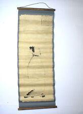 Makimono Japanisches Rolbild um 1920 signiert
