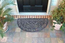 NEW Vintage Style Moon Design Home Door Barrier Mat Entry Link Mud Dirt Scrapers