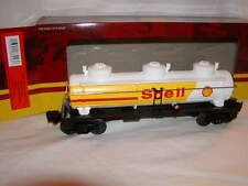 Lionel 6-83243 Shell Oil 3 Dome Tank Car O 027 2016 New sealed