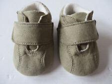 C&A Baby Club ° süsse Babyschuhe Gr. 17 18 grün Kinder Schuhe Puschen Hausschuhe
