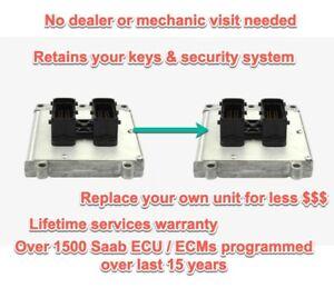 Plug & Play Saab 9-3  ECU ECM Trionic 8 Replacement Cloning Service - No CORE