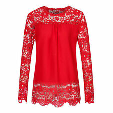 Chiffon Machine Washable Casual Tops & Blouses for Women