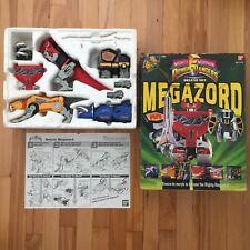 MMPR Mighty Morphin Power Rangers Megazord Complete Box Vintage 1993 Sharp Sword