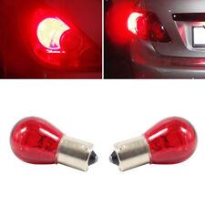 2pcs 1156 RED 12V 21W PY21W BAU15S 581 Bulb Car Auto Brake Stop Tail Lamp Light
