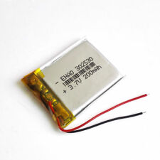 302530 3.7V 200mAh lipo rechargeable Battery For MP3 bluetooth smart watch GPS