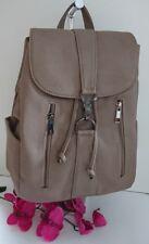 LUXUS Damen Rucksack Cityrucksack Shopper Tasche Braun NEU X-E 4195