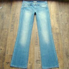 Esprit Damen-Bootcut-Jeans niedriger Hosengröße W30 (en)
