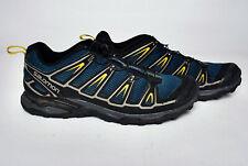 Size 12 Mens Salomon X-ULTRA Waterproof Goretex trail running Hiking Shoes blue