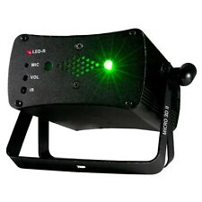 American DJ Micro 3D II Red & Green mW Laser DJ Disco Stage Lighting Effect
