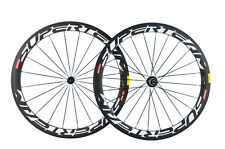 Superteam 50mm Carbon Wheelset Clincher Carbon Fiber Wheels In USA Warehouse