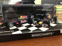 Minichamps 1:43 Red Bull RB6 2010 Champions Vettel & Webber Twin Car Set
