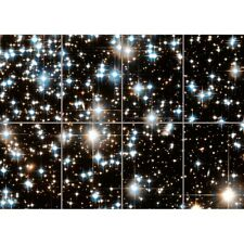 Star Clusters Hubble COSMOS ESPACE Giant Wall Art Nouveau Poster Impression Photo