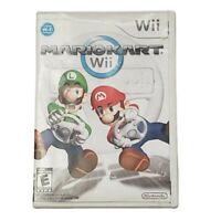 Nintendo WII Mario Kart Case & Manual Only