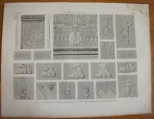 DESCRIPTION DE L'EGYPTE, 1809, ESNE (LATOPOLIS) PLANCHE 80