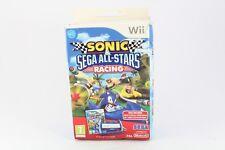 Nintendo Wii Sega & de Sonic All Stars Racing con rueda PAL nuevo video juego