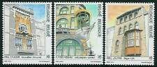 Belgium**ART NOUVEAU-ART DECO-3 HOUSES-3 stamps-1995-ARCHITECTURE-JUGENDSTIL-MNH