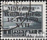 Albanien 284 gestempelt 1939 Verfassungsgebende Versammlung