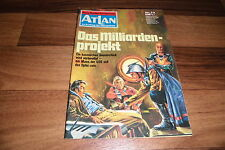 ATLAN  # 73 -- das MILLIARDENPROJEKT // aus d. Perry Rhodan Red./1. Auflage 1973