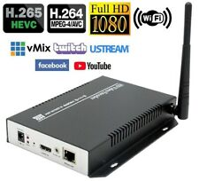 Video Encoder WiFi HD H.265 HDMI Streaming Per Live Youtube-Ustream-Facebook New