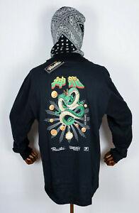 Primitive Skateboard Tee T-Shirt Longsleeve Dragonball Z Shenron Wish Black XXXL
