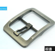 Zinc Alloy Day Pin Buckle for Men Leather Belt Spare Replacement Snap on 40mm