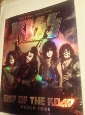 Kiss End of the Road Final Tour 2019 Tour Program