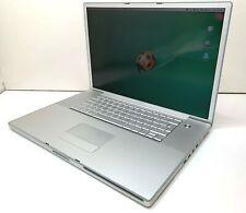"Apple PowerBook G4 A1013 5.1 17"" 1.0GHz 1GB RAM 60GB HDD (2003) Vintage Laptop"