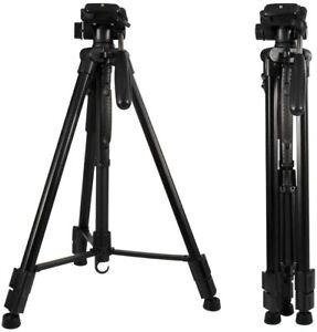 RAYROW Camera Tripod 160cm/62.99 Inch for Mirrorless Cam/DSLR/Smartphone NEW