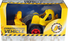 Large 40cm Chunky Yellow Construction Digger Truck Vehicle Toy