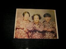 Signed in 1947 3 STOOGES Larry Fine in person autograph