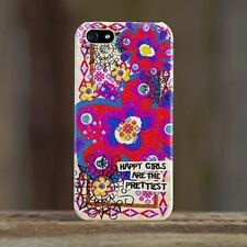 NATURAL LIFE HAPPY GIRLS IPHONE 5 CELL PHONE CASE COVER HARD COVER