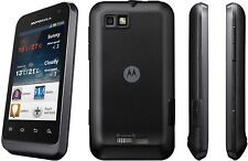 "Optus Motorola Defy Mini XT320 Black 3G 3.2"" Screen 3.0MP Camera Android V2.3.6"