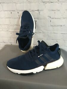EUC men's ADIDAS navy blue POD S3.1 athletic shoes - size 10 / awesome !!!!