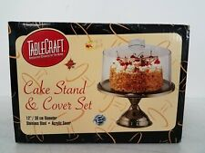Sealed TableCraft Cake Stand & Cover Set Ut