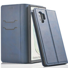 Samsung Galaxy NOTE 10/8/9 S10/S8/S9 Plus Magnetic Flip Leather Case Stand Cover
