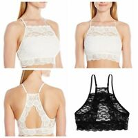 Women Floral Lace Bra Tank Vest Cami Bralet Short Blouse Shirt Crop Top Clubwear
