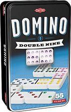 DOUBLE 9 DOMINO-STAGNO della doppia nove DOMINO * NUOVISSIMO *