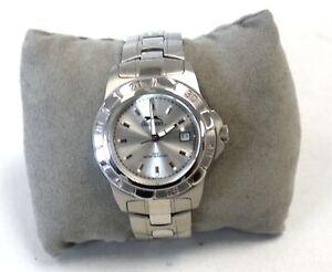 Men's SLAZENGER 02510 Stainless Steel Quartz Wristwatch Spares/Repairs - BC5